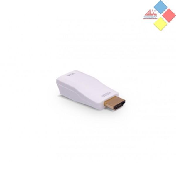 ADAPTADOR VGA HDB15 HEMBRA - HDMI  MACHO 3GO
