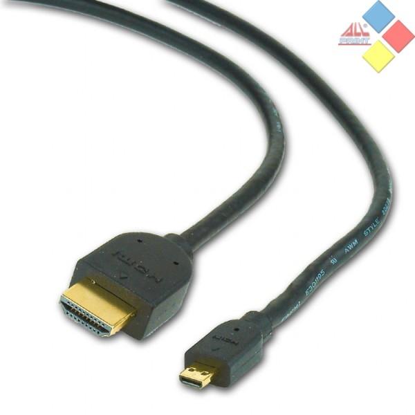 CABLE HDMI MACHO / MICRO HDMI MACHO 1.8M  V1.4 CABLEXPERT