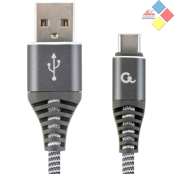 CABLE USB 2.0  - TIPO C USB 1M CABLEXPERT GRIS