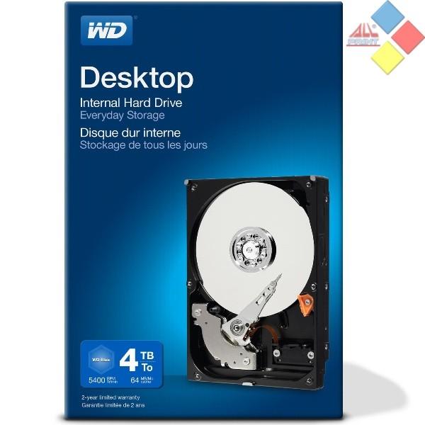 """DISCO DURO 3,5"""" 4TB WESTERN DIGITAL BLUE SATA3"""