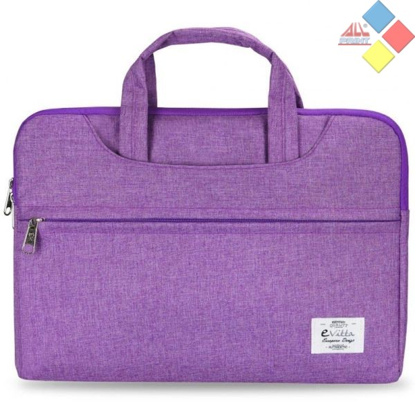"MALETIN PORTATIL EVITTA BUSINESS 13.3"" PURPURA"