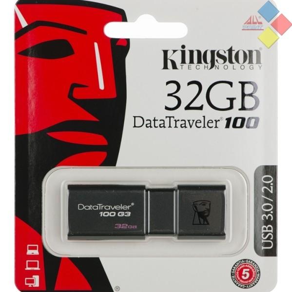 PENDRIVE KINGSTON 32GB DATATRAVELER 100 G3 3.0